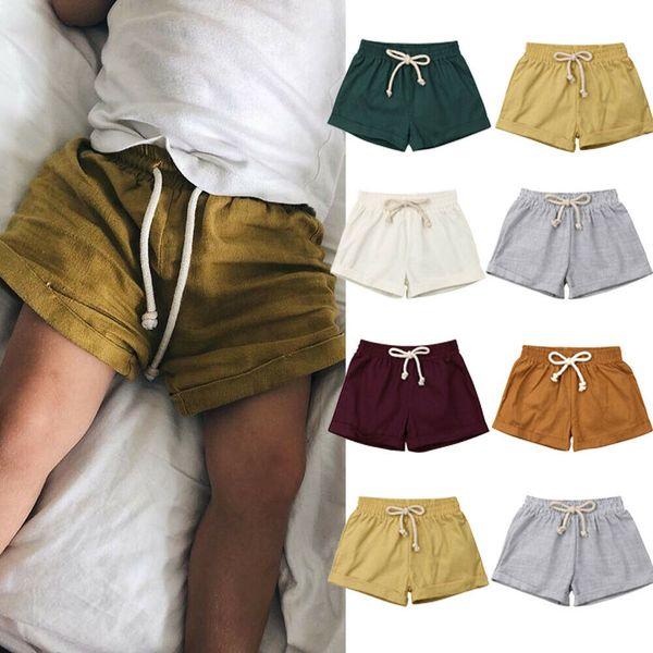 best selling Emmababy Summer Baby Boy Girl Short Harem Pants Sweatpants Cotton Bottoms PP Shorts