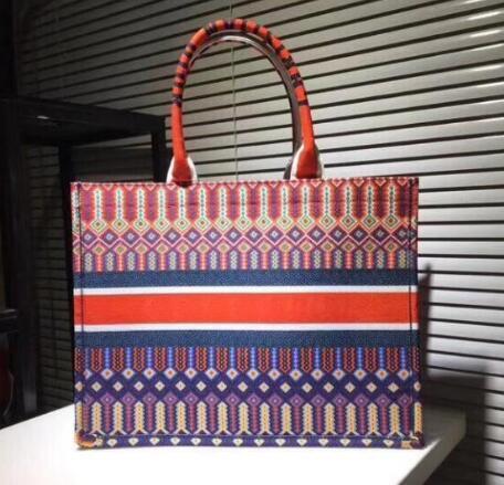 Borse da donna di grandi dimensioni colorate XXL fiori colorati borse multi colore spiaggia borse a tracolla Shopping Bags Capacità borsa delle signore borsa