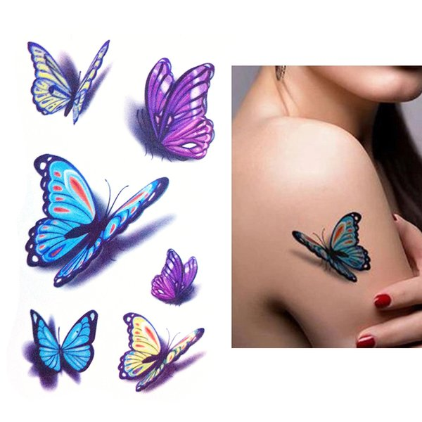 Temporary Tattoo Women Party Body Arm man Art Flash Tatoos Gold Metallic Tattoo Stickers Waterproof Bracelet Wrist Fake Adult