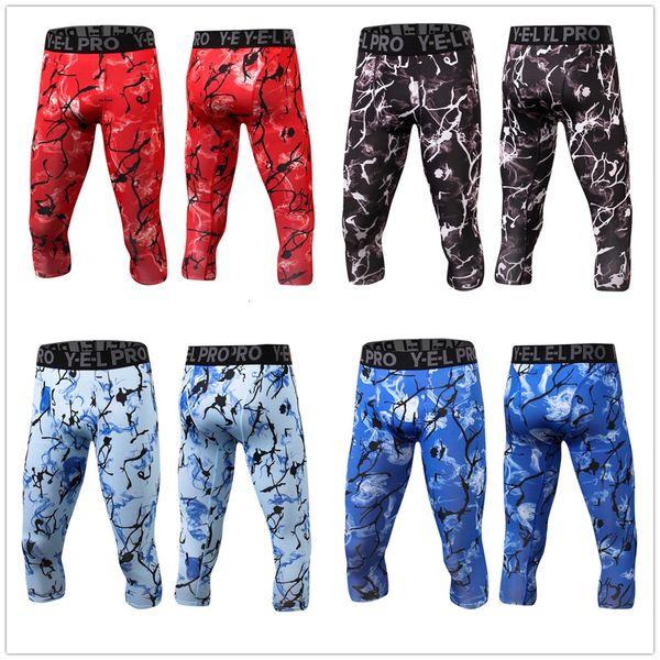 2019 nouveau Compression Pantalon Running Collants Hommes Formation Fitness Sport Leggings Gym Pantalon De Jogging Homme Sportswear