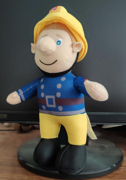 25 CM Hohe Qualität Feuerwehrmann Sam Kuscheltiere Plüsch Puppe Kinder Geschenk Spielzeug plüschtier geschenk C5