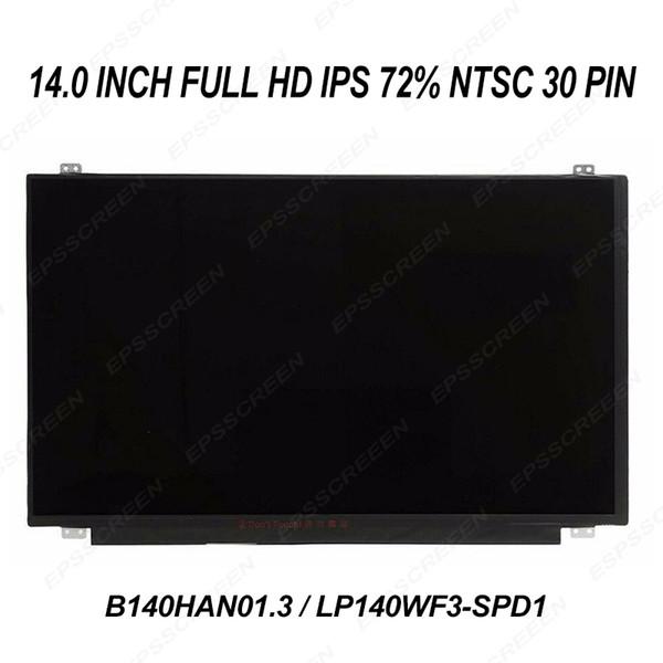 14.0 ips full hd écran LCD pour thinkpad T440p lenovo / T450s / YOGA 14 panneau de remplacement 72% écran tactile non FRU 04X5916 / 00HT622
