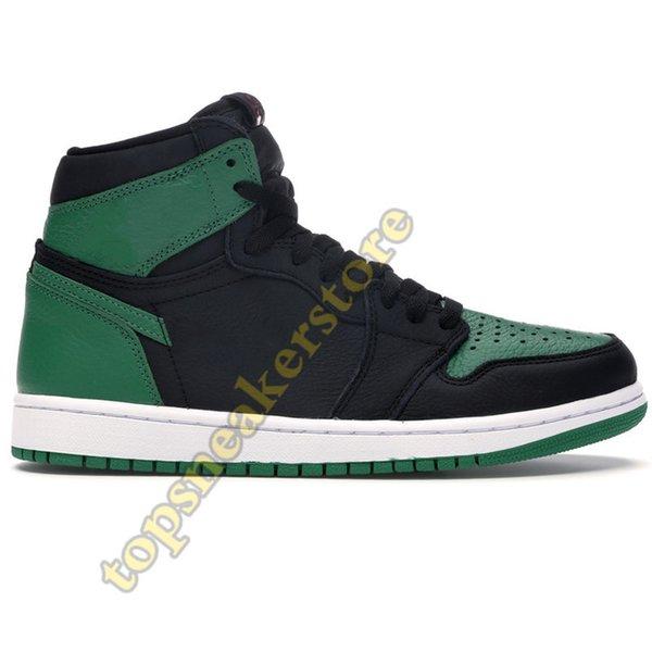 #1- High Pine Green Black