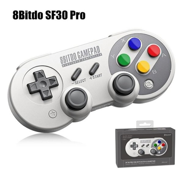 8BitDo SF30 Pro Bluetooth Game Controller Wireless Gamepad Android Mobile Phone Game Console For TV Box PC Nintendo Switch Game Joystick