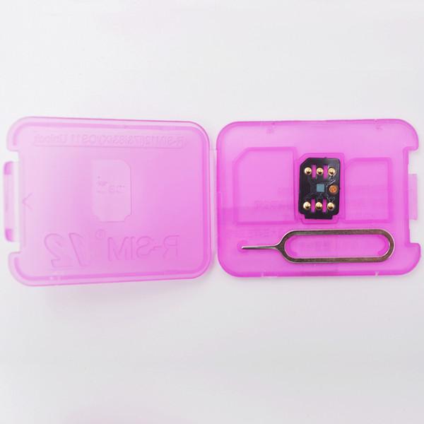 Rsim 12 R-SIM12 unlock black chip max for iphone x 8 7 plus and i6 unlocked iOS 11 ios 11.x-7.x 4G CDMA GSM WCDMA SB AU SPRINT