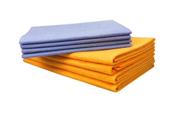 Anti-grease Bamboo Fiber Dish Cloth Car Washing Towel Absorbent dishwashing Car Cleaning Wiping Rags Cleaning Cloth Shamwow