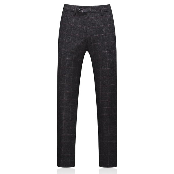 MOGU 2019 Fashionable New High-Quality Striped Loose Men's Pants Straight Men Classic Casual Business Trousers in Long length