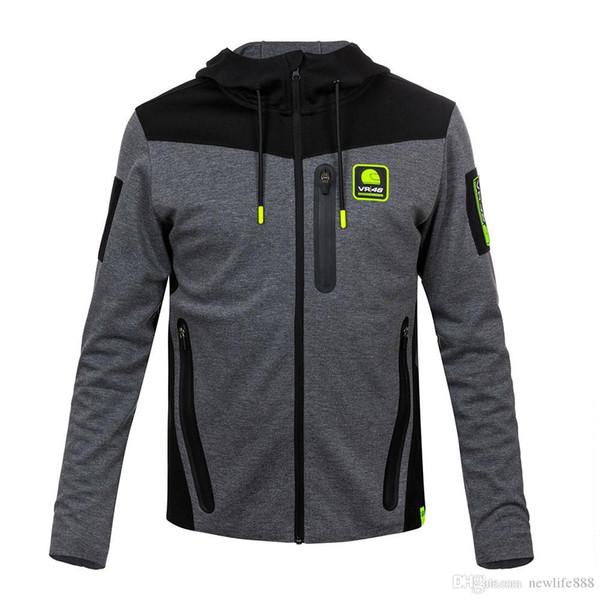 Moto GP motorcycle hoodie racing Motocross riding hoody clothing jackets men cross Zip jersey sweatshirts coat Windproof 090
