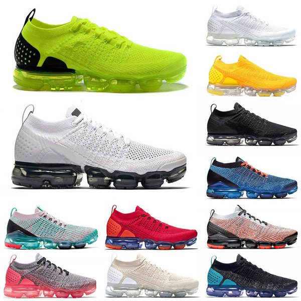 Free Run VPM Cushion Moc 2 Sports Shoes Laser Orange NRG Team Red Volt Green Hot Punch Pink Mens Womens Designer Sneakers Trainers