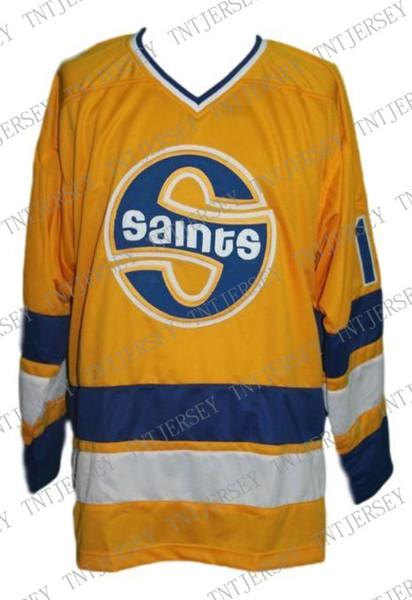 Jersey de Hockey de los Santos de la Lucha de Minnesota Antonovich Puntada personalizada en cualquier número y nombre Jersey de Hockey para hombre XS-5XL