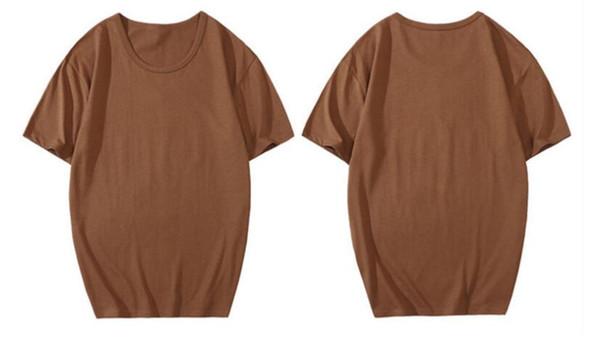 Новая мода классический хлопок футболка мужская женская повседневная печать с коротким рукавом бренд с коротким рукавом дизайнер футболка 0617-25