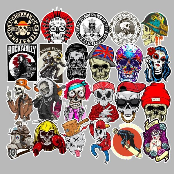 100 PCS/Set Car Stickers Car Accessories Cool Waterproof Stickers for Suitcase Laptop Bike Motorcycle Helmet Graffiti Stickers TH08