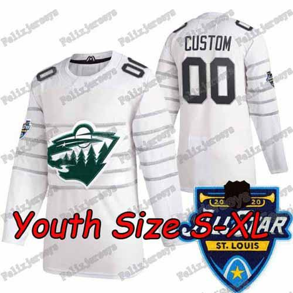 2020 All Star Beyaz Gençlik: Boyut S-XL