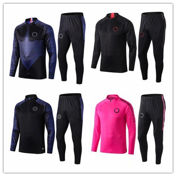 best selling 2019 2020 paris jogging jacket hoodie Champions League Survetement 1920 MBAPPE football jacket soccer TRACKSUIT