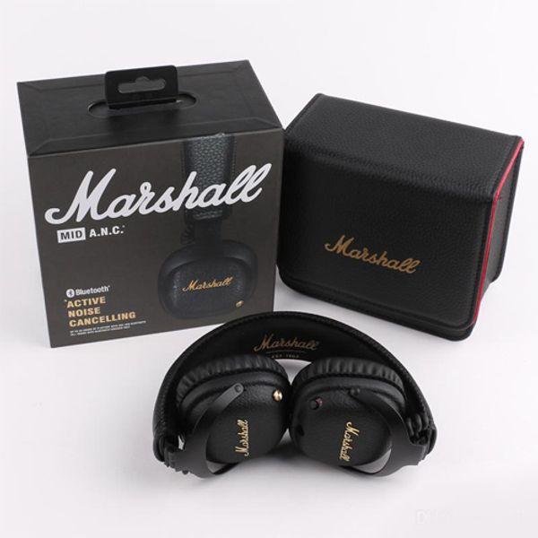 Marshall mid anc cancelamento de ruído ativo fone de ouvido sem fio bluetooth fone de ouvido dj fone de ouvido profundo baixo gaming fone de ouvido