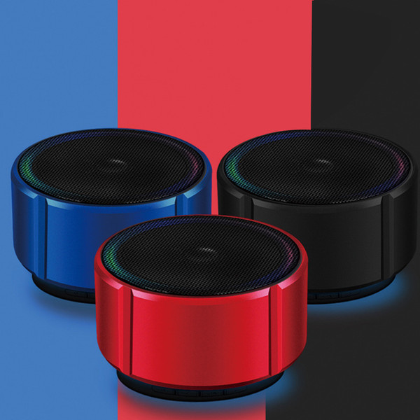 Portable Bluetooth Speakers Wireless Mini Soundbar Music Audio TF FM Light Stereo Sound wireless bluetooth speaker