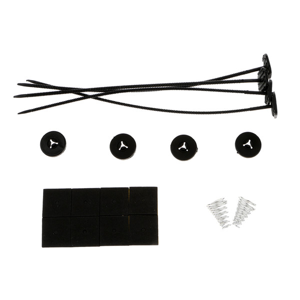 top popular High Quality Electric Radiator Fan System Installation Kit Tie Strap Pads 2021