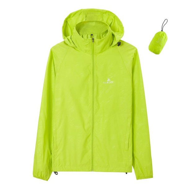 2018 Giacca da corsa per donna Giacche Impermeabile Plus Size Sportswear Uomo Run Coat Zipper Clothes Workout Spring Sport Jacket