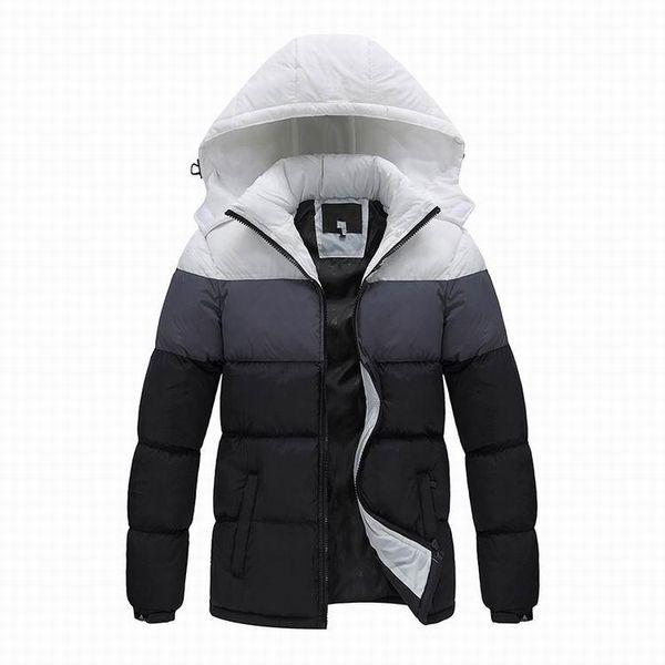 best selling 2019 new brand Men winter jacket ,fashion sports outdoor Winter down coat men,men outerwear jacket brand anti-wind hooded jacket