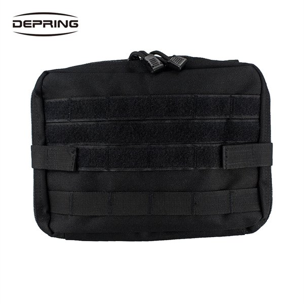 Tactical Molle Bag Handy EDC Utility Organizer Pouch Large Volume Tool Gears Phone Tablet Pouch Medic First Aid Bag #234472