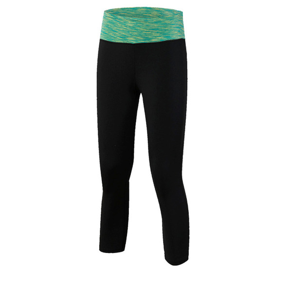 Female Camouflage Yoga Cropped Trousers Yoga Training Running Fitness Stretch Tight Wicking Quick-drying Sweatpants