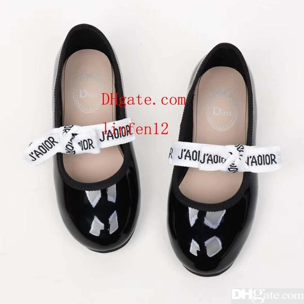 Girl Sandals white girl wedge platform sandal summer beach slipper for baby girl boy Eu 26-35 send with box