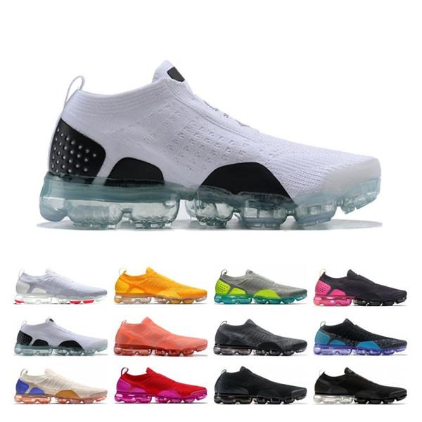 MOC 2.0 Men Women Running Shoes Core Triple Black White Wheat Grey Oreo Red Cheap Run Sport Sneaker Size 5.5-11