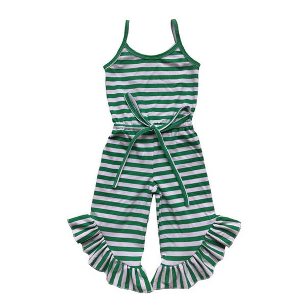 cotton Green stripe