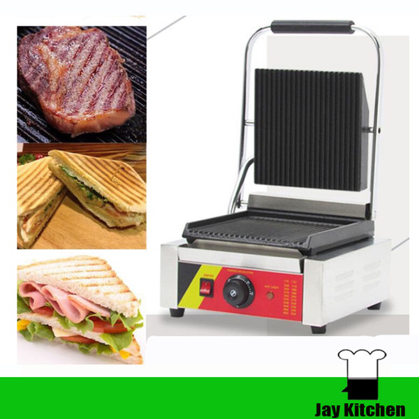 NP-589 mini panini grill panini press griddle stainless steel panini maker electric breakfast sandwich maker 110v 220v