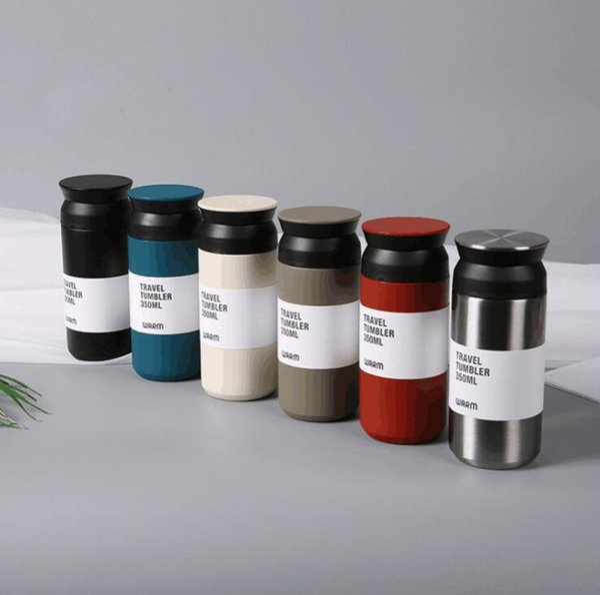 Thermos dell'acciaio inossidabile di 350ml thermos della bottiglia di viaggio della tazza di caffè delle tazze delle tazze del thermos di thermos di thermos del thermos