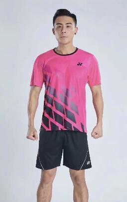 Camisa de los hombres del deporte al aire libre Ropa de tenis Kit de Ejecución de la camiseta de deporte Tabla Bádminton Fútbol de secado rápido ropa de fitness