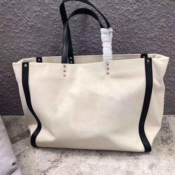 Borsa a tracolla borsa da donna famosa designer 2018 borsa da spiaggia in tela di alta qualità da donna di grandi dimensioni
