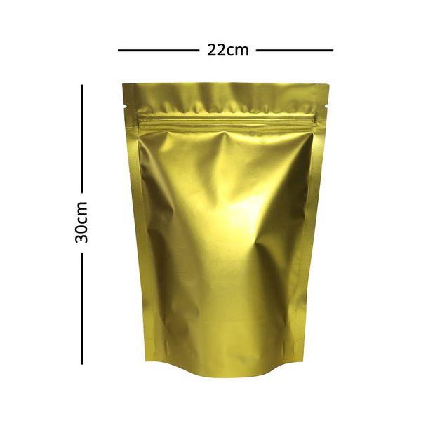 22x30cm Matte Ouro