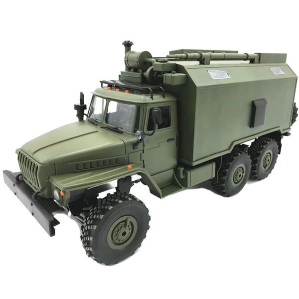 WPL B36 Ural 1/16 2.4G 6WD RC Carro Militar Caminhão Rock Crawler Comando de Comunicação Brinquedo Do Veículo KIT / RTR Brinquedos de Controle Remoto