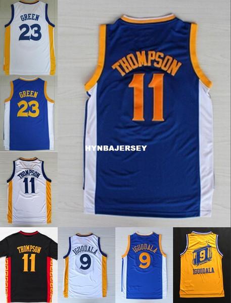 Toptan # 11 KT Jersey # 23 DG Jersey # 9 AI Dikişli Basketbol Forması Gömlek Hızlı Kargo Ncaa Koleji