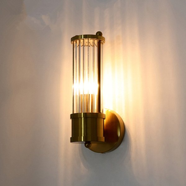 lustre crystal wall lamp bronze bedroom led wall lights fixtures living room light corridor sconce
