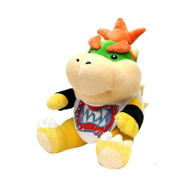 Super Mario Bros Plush Toys Bowser JR Koopa Koopalings Dragon Plush Doll Soft Stuffed Animal Doll Novelty Items 18cm CCA11742 60pcs