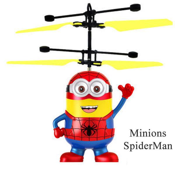 Minions spiderman