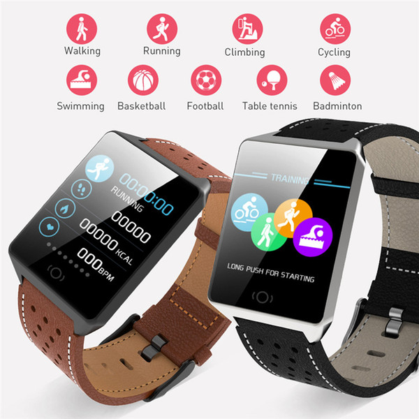 CK19 Smart Watch Blood Pressure Heart Rate Monitor Fitness Tracker 1.3inch Color Sports Fashion Smartwatch Bluetooth Watch