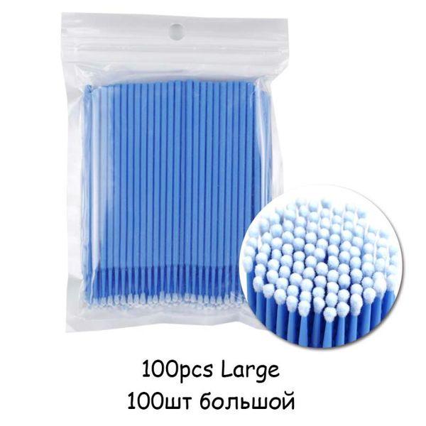 100pcs Blue