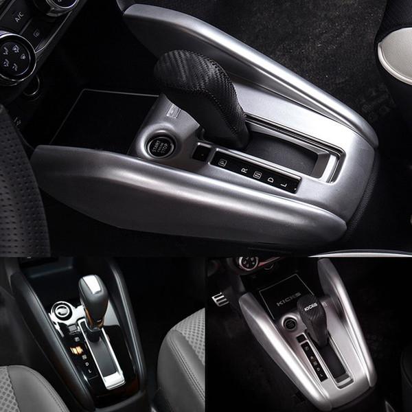 ABS матовая средняя коробка передач коробки передач крышка отделка для Nissan Kicks 2016-2018