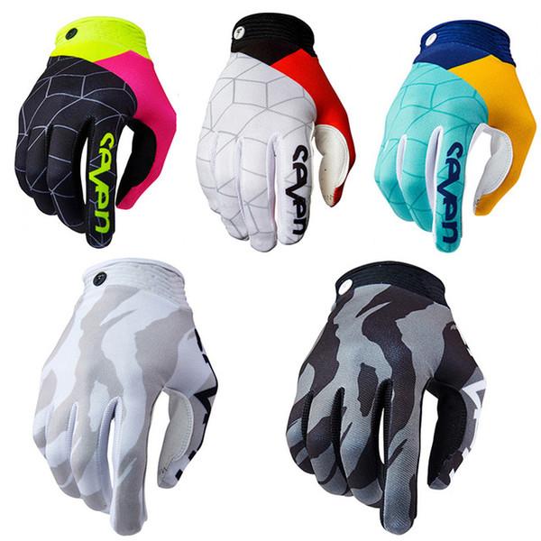 2019 Zero Diverge Aqua BMX mountain bike TL Motocross Gloves long racing gloves men women outdoor sports glove B