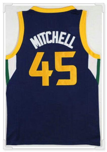 Utah squadra # 45 Mitchell - blu