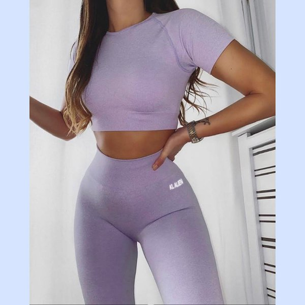 Purple Top Pants LG