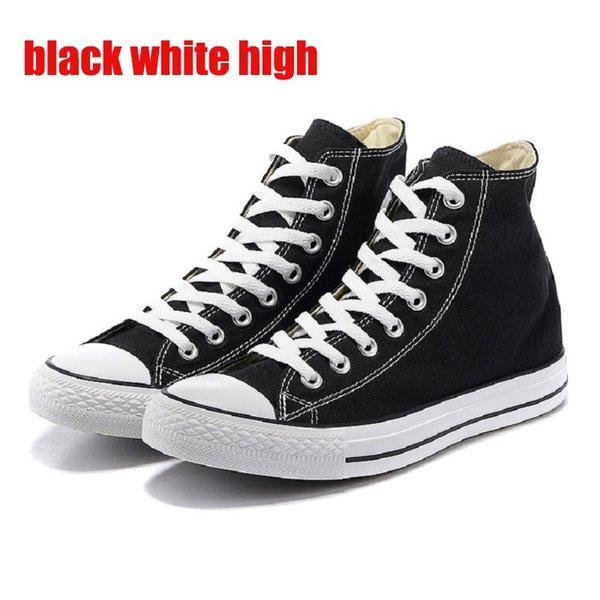 black white high