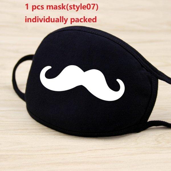 1pc máscara negro (style07)