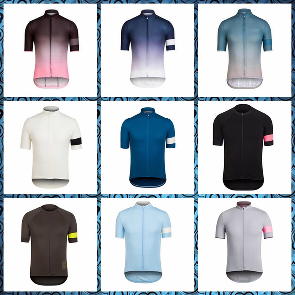 RAPHA Cycling Short Sleeves Trikot neue Sommer-Stil Atmungsaktiv Komfortable Männer Top-Marke kostenlose Lieferung 52402