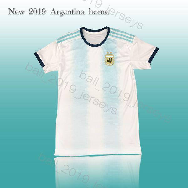 2019 Главная Футбол Трикотажные MESSI DYBALA Игуаин футбол рубашка Агуэро ICARDI Маскерано Camiseta де Futbol Kit