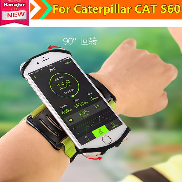 "2019 Running Sports Wrist Octopus Bags Men Women 5.0"" 5.8"" Phone Bag for Caterpillar CAT S60 4.7"" Writlets Pocket Accessories"
