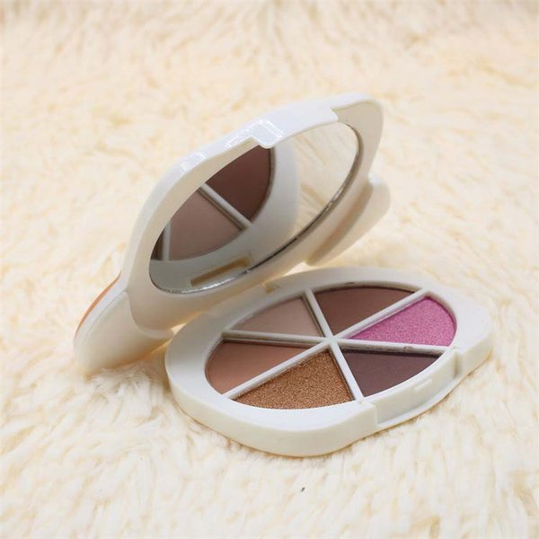 Matte & Shimmer Eye shadow Cosmetics Pretty puppy cartoon edition 6 colors available easy to wear DHL Free eyes makeup